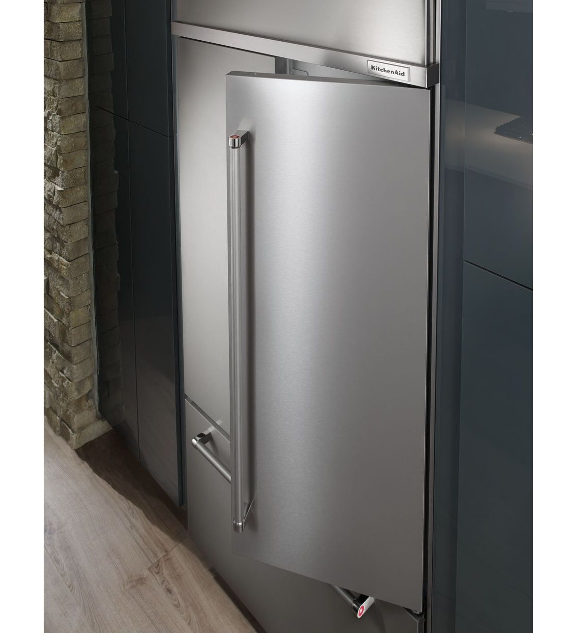 42 Kitchenaid 242 Cu Ft Built In Panel Ready French Door Refriger