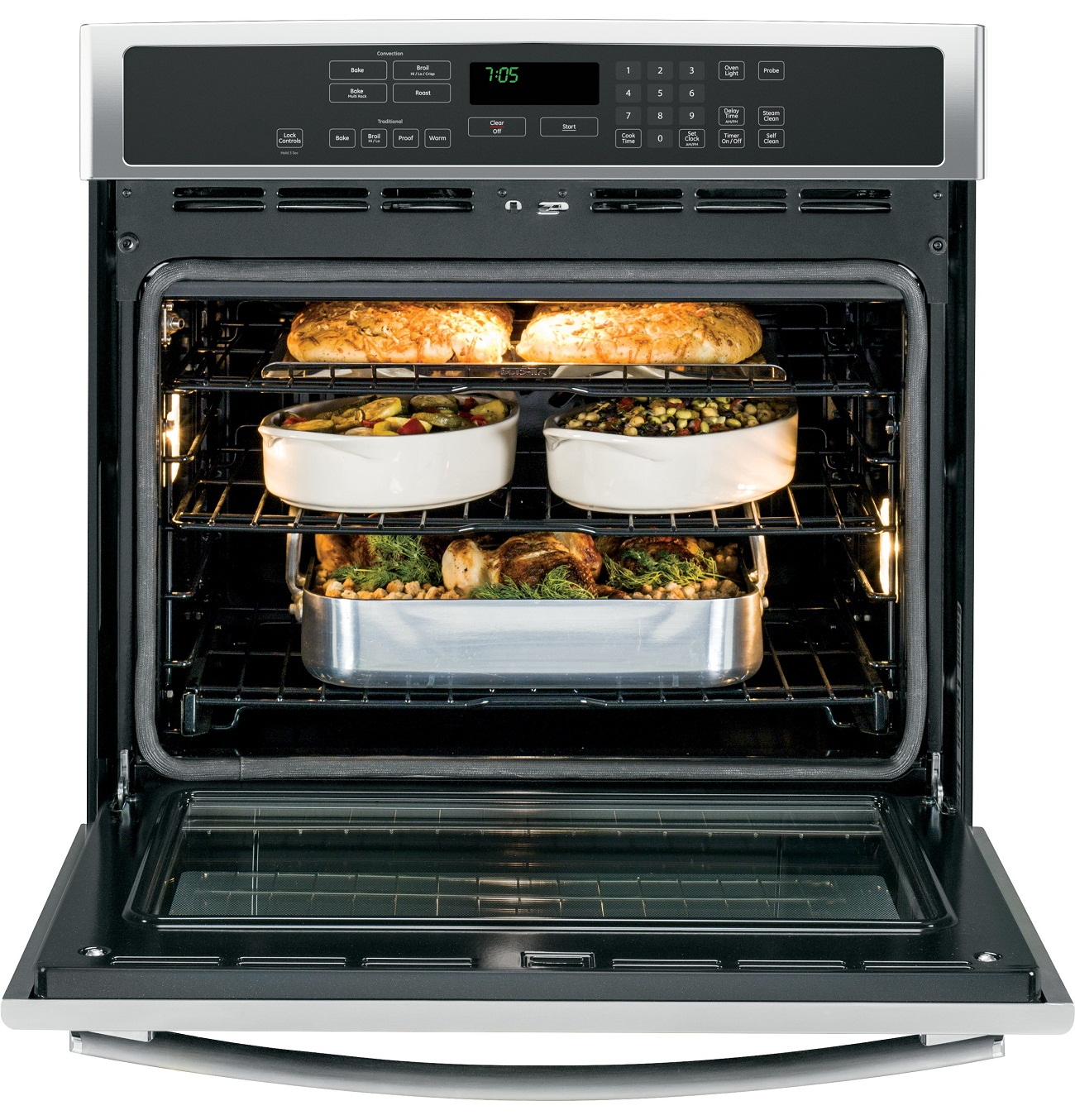area explained purpose the repair toaster self appliance button an cleaning of all oven on