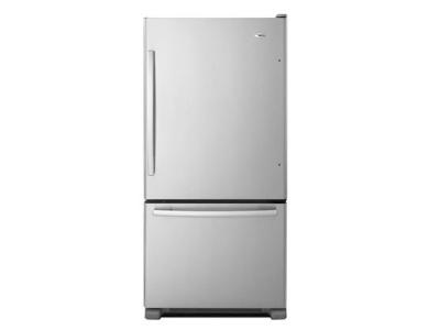 Amana 22 Cu. Ft. Amana Bottom-Freezer Refrigerator  -  ABB2224BRM