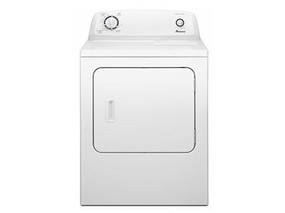 6.5 cu. ft.  Amana Top-Load Gas Dryer with Automatic Dryness Control - NGD4655EW
