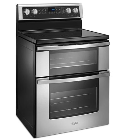 Whirlpool 6.7 Cu. Ft. Electric Double Oven Range with True Convection - YWGE745C0FS
