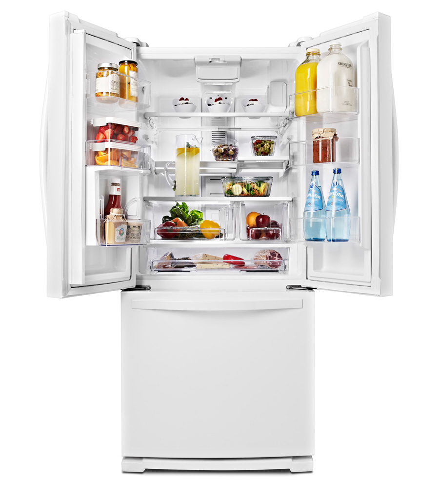 Whirlpool Wrf560sfhv 30 Quot French Door Refrigerator 20 Cu Ft