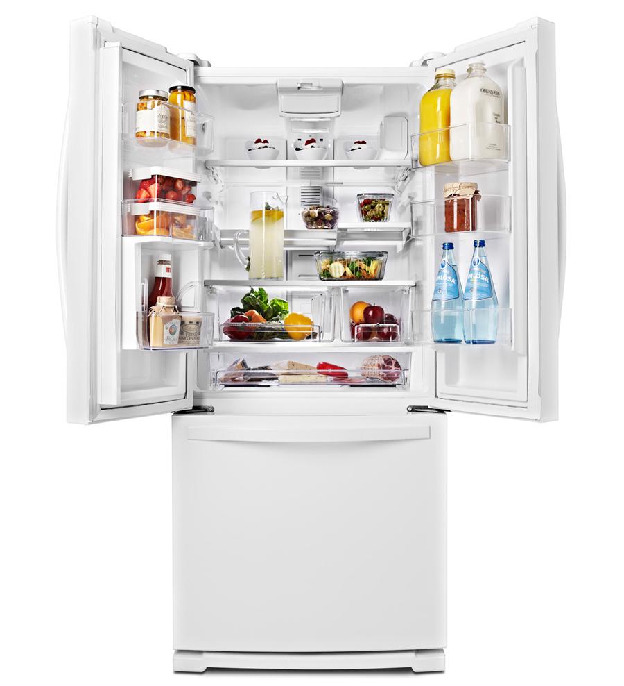 Whirlpool Wrf560sfhz 30 Quot French Door Refrigerator 20 Cu Ft