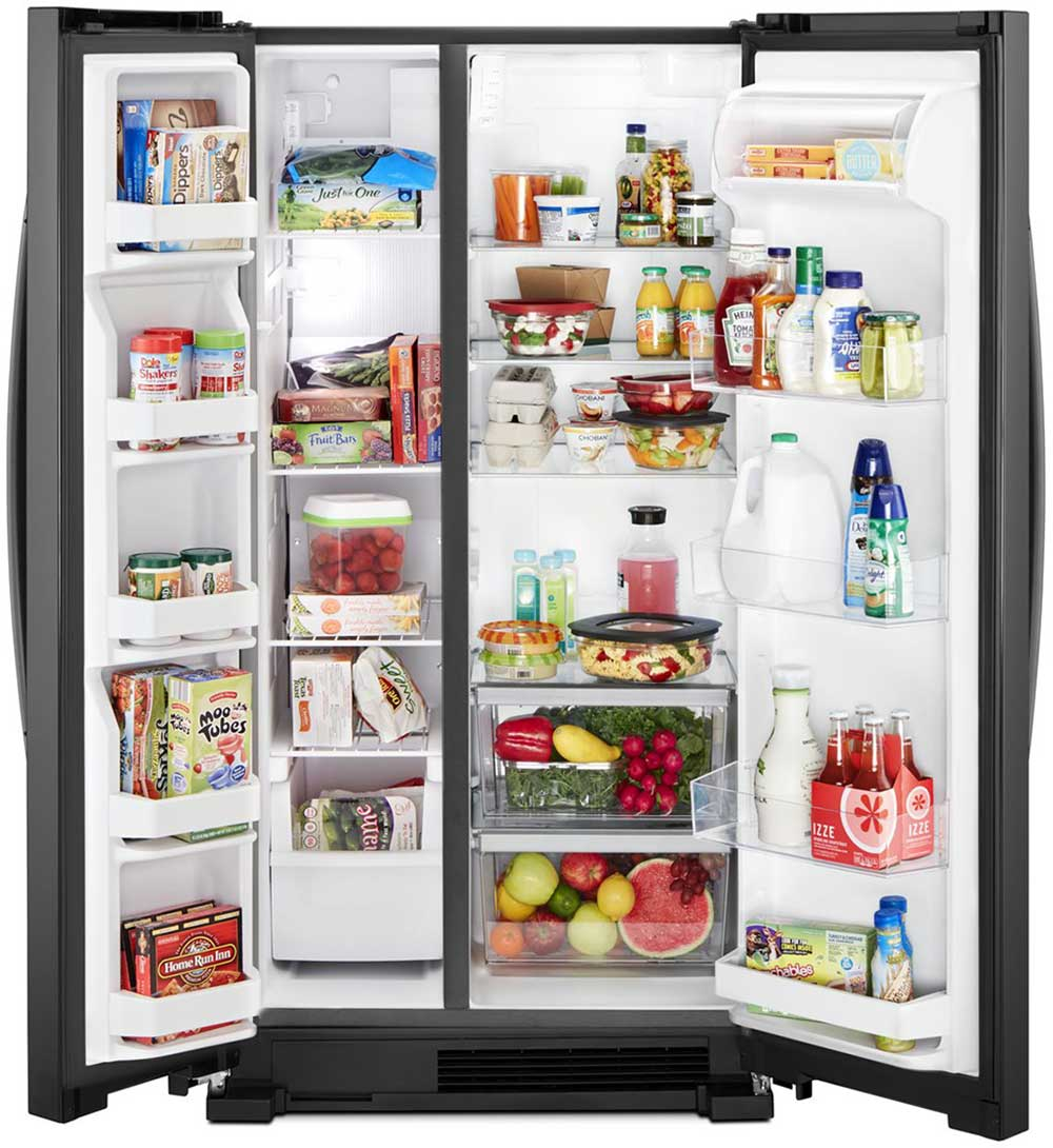 Whirlpool Wrs312snhm 36 Quot Side By Side Refrigerator 22 Cu
