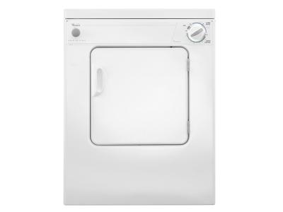 Whirlpool 3.4 cu. ft. Compact Top Load Dryer with Flexible Installation - LDR3822PQ
