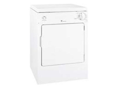 GE SpacemakerTM 120 Volts Electric Portable Compact Dryer - PSKP333EBWW