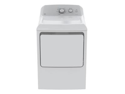 GE Top Load Matching Dryer - GE 7.2 cu ft.capacity DuraDrum2 gas dryer. - GTD40GBMKWW