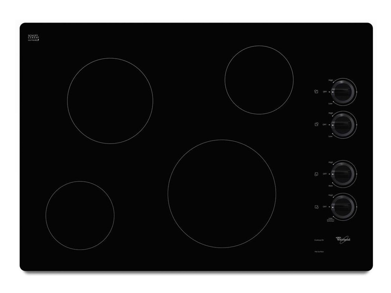 Whirlpool W5ce3024xb 30 Quot Electric Ceramic Glass Cooktop