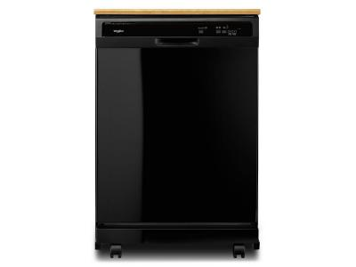 Whirlpool Heavy-Duty Dishwasher with 1-Hour Wash Cycle - WDP370PAHB
