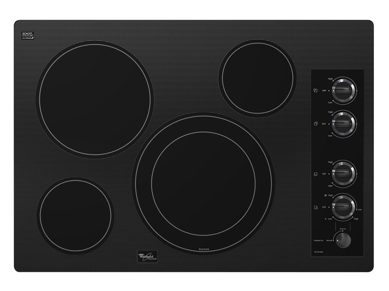 Whirlpool G7ce3034xp 30 Quot White Electric Cooktop