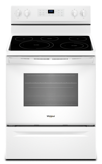 Whirlpool 5.3 cu. ft. Freestanding Electric Range with Fan Convection Cooking - YWFE550S0HW