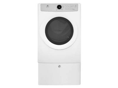 Electrolux Front Load Gas Dryer with 5 cycles - 8.0 Cu. Ft. - EFDG317TIW