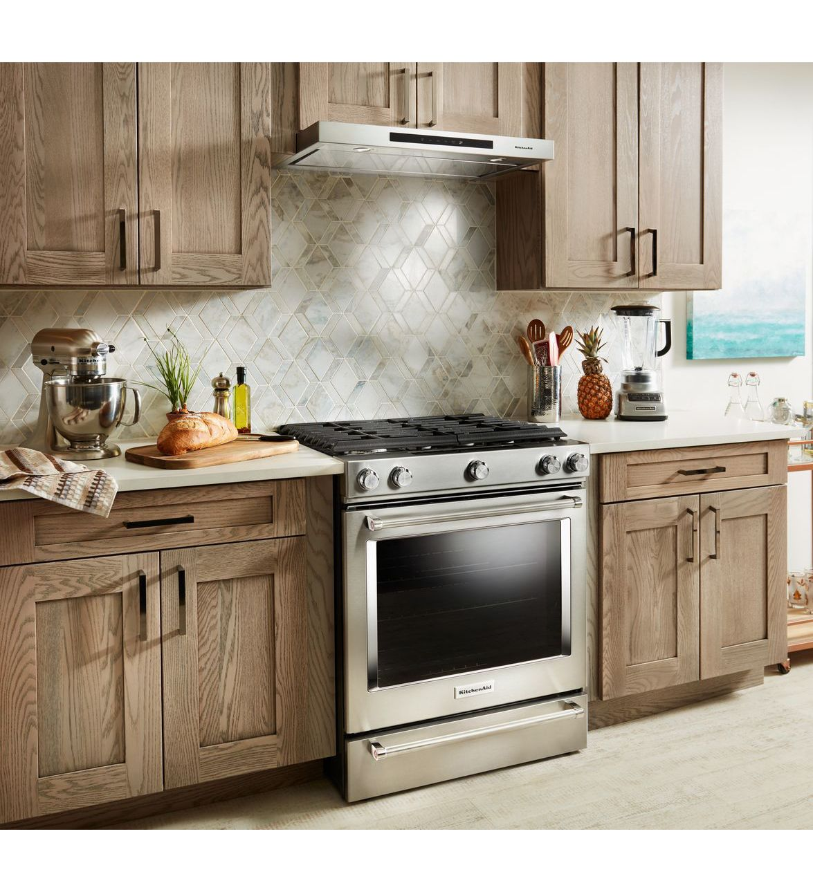 "Kitchen Aid Cabinets: KitchenAid KVUB400GSS 30"" Low Profile Under-Cabinet"