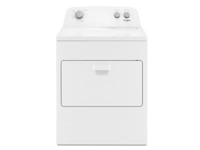 Whirlpool 7.0 cu. ft. Top Load Gas Dryer with AutoDry™ Drying System WGD4850HW