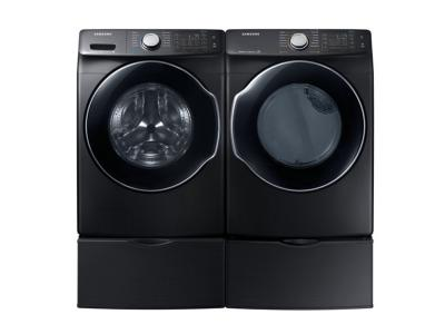 Samsung Washer and Dryer Pair - WF45N6300AV-DVE45N6300V