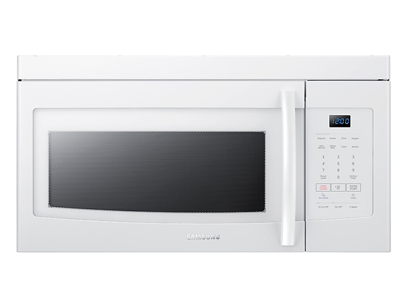Samsung Me16k3000aw 30 Quot Over The Range Microwave 1 6 Cu Ft