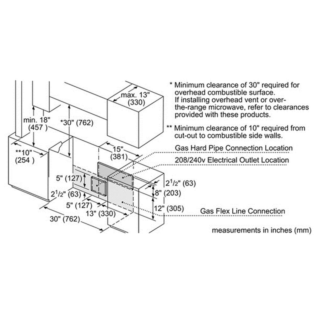 Bosch Hdip054c 30 Quot Dual Fuel Slide In Range Benchmark