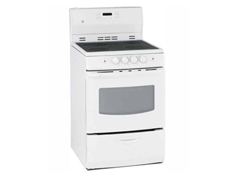 Ge Jcap760smss 24 Quot Free Standing Electric Self Clean Range