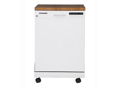Ge Gpf400sgfww 24 Quot Portable Dishwasher With Stainless