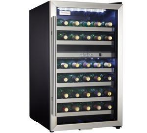Danby Designer 38 Bottle Wine Cooler - DWC114BLSDD