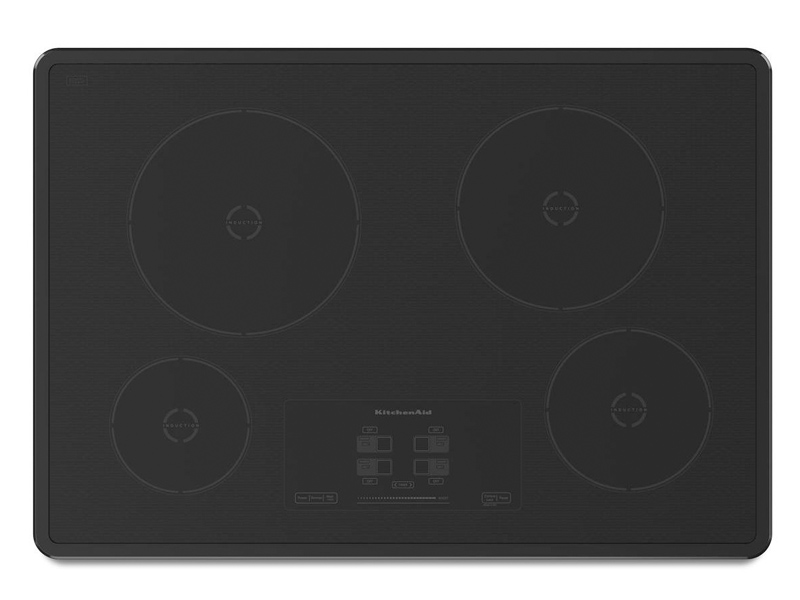 Kitchenaid Kicu500xbl 30 Quot Induction Cooktop With 4