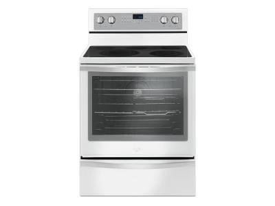Whirlpool 6.4 Cu. Ft. Freestanding Electric Range with True Convection - YWFE745H0FH