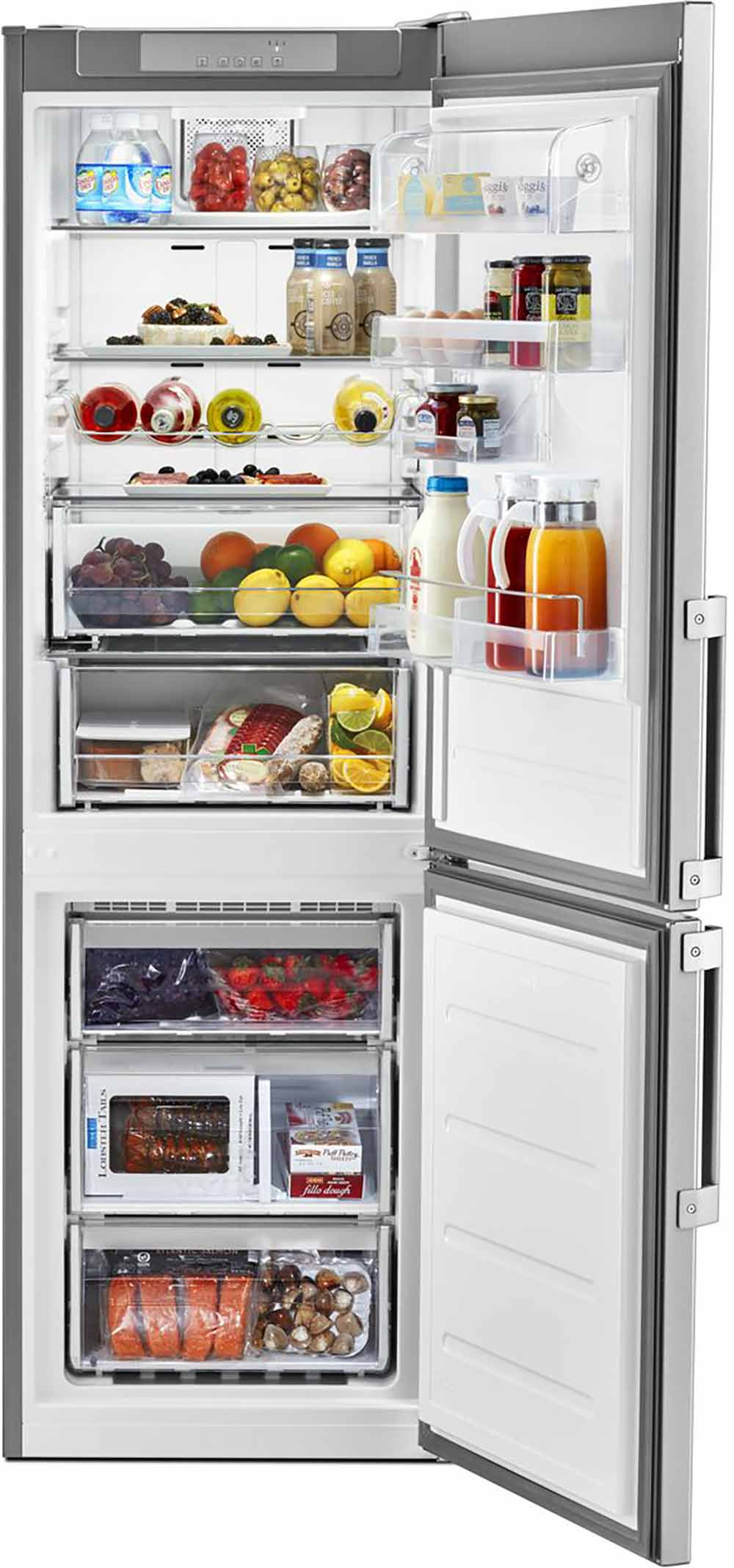 KitchenAid URB551WNGZ Bottom-Mount Refrigerator 24-inches wide -