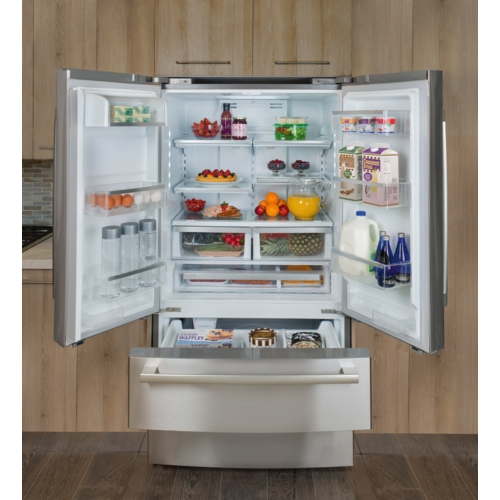 36 Counter Depth French Door Bottom Freezer 800 Series Stainless St